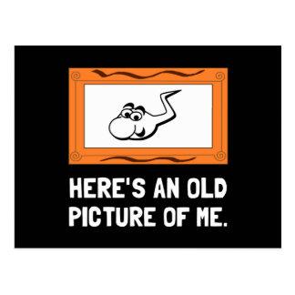 Vieja imagen de mí postal