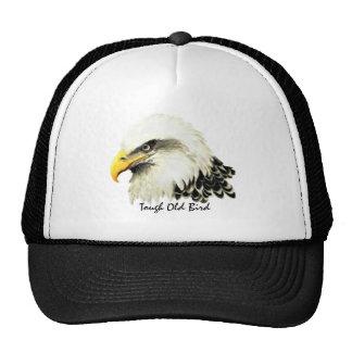 Vieja pintura dura de Eagle calvo de la cita de la Gorro