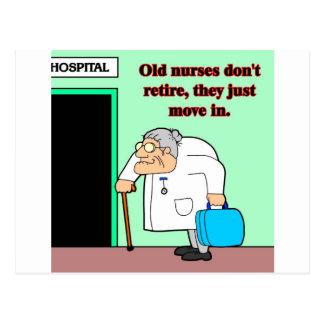 viejas enfermeras postal