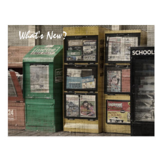 Viejas noticias postal
