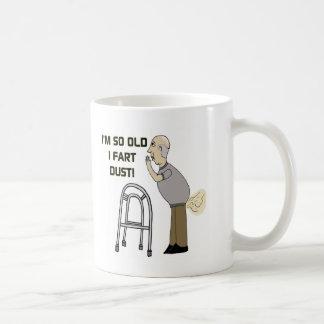 Viejo Fart los regalos para el día de padres Taza De Café