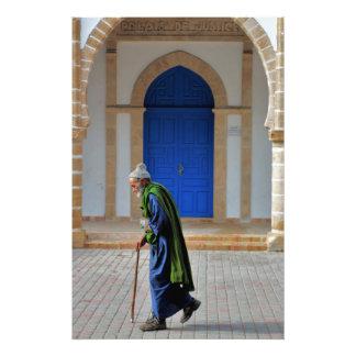 Viejo marroquí impresion fotografica