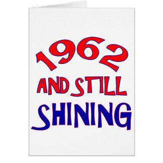 viejos diseños del cumpleaños 52years tarjeta de felicitación