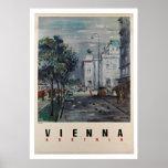 Viena Austria - posters del viaje del vintage Póster
