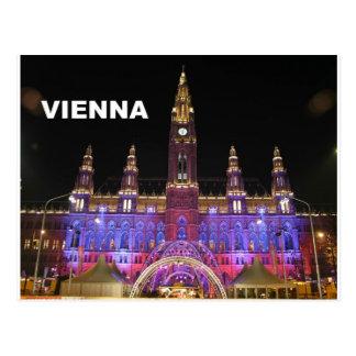 Viena Rathaus Eistraum (St.K) Postal