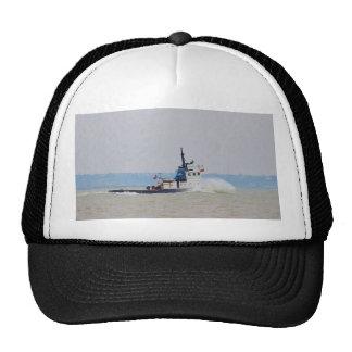 Viento de lucha y marea del barco del tirón gorras de camionero