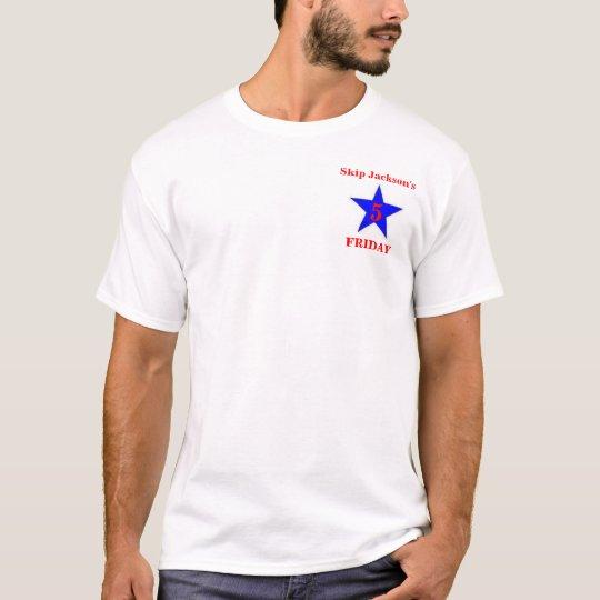 Viernes de cinco estrellas de Jackson del salto Camiseta