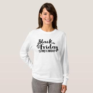 Viernes negro es mi camisa negra de lujo cardiia