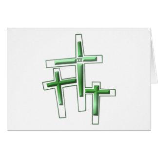 Viernes Santo - 3 cruces Felicitación