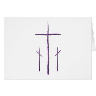 Viernes Santo - 3 cruces Felicitacion