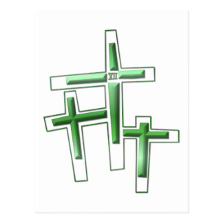 Viernes Santo - 3 cruces Postal