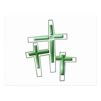 Viernes Santo - 3 cruces Tarjetas Postales
