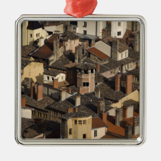Vieux Lyon Lyon vieja), Francia Adorno Cuadrado Plateado