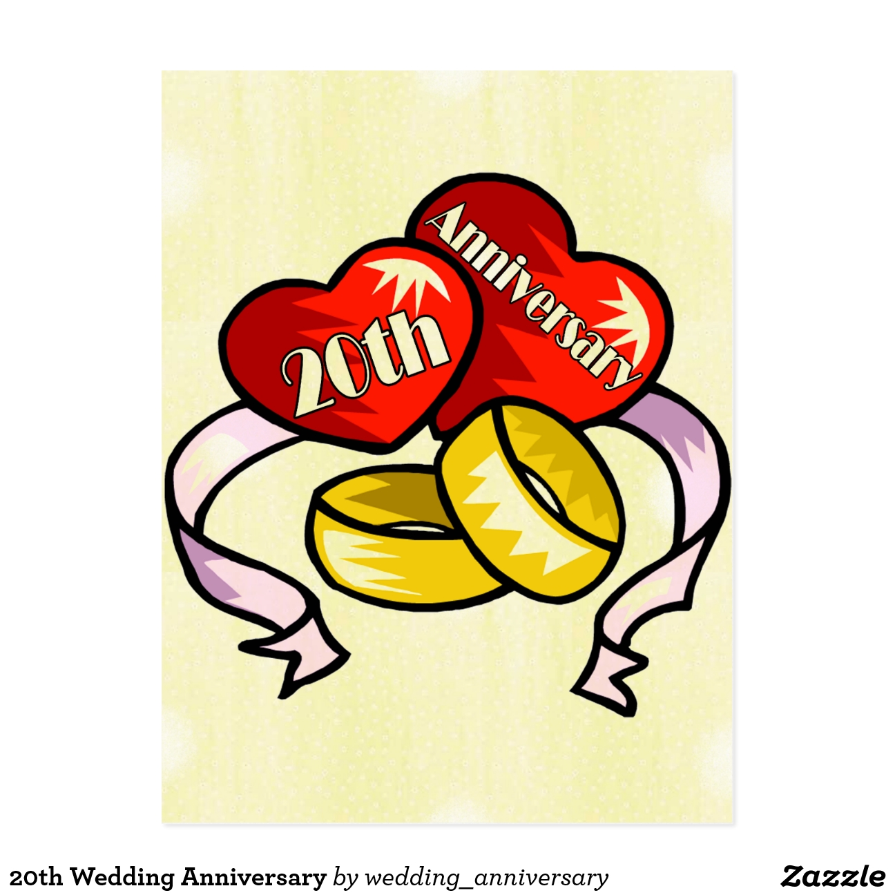 Vigésimo aniversario de boda