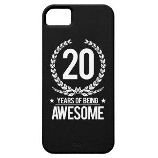 vigésimo Cumpleaños (20 años de ser iPhone 5 Protectores