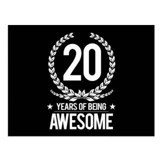 vigésimo Cumpleaños (20 años de ser Postal
