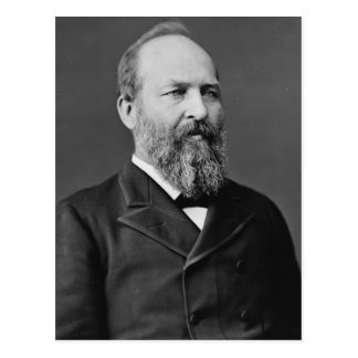 Vigésimo presidente de James Garfield Postal