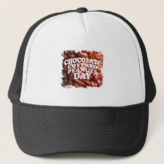 Vigésimo quinto Februar Chocolate-Cubrió día de Gorra De Camionero