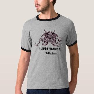 Viking, APENAS QUIERO HABLAR la camiseta divertida