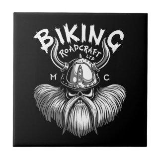 Viking Biking Azulejo
