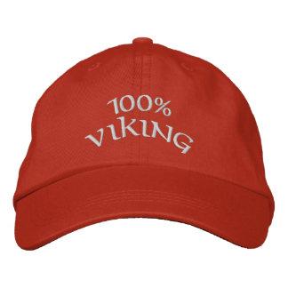 vikingo 100% gorra de beisbol bordada