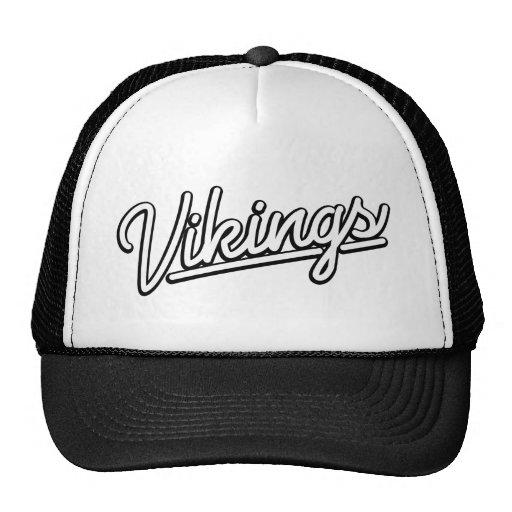 Vikingos en blanco gorras