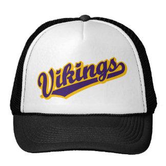 Vikingos en colores de encargo gorras