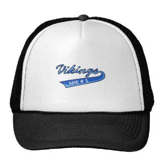 Vikingos son #1 gorras de camionero