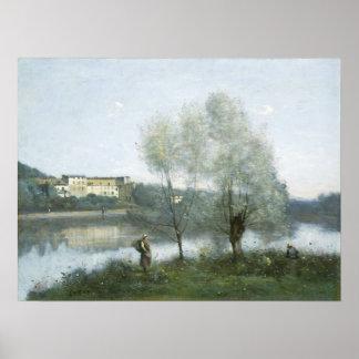 Ville d'Avray por Camilo Corot Póster