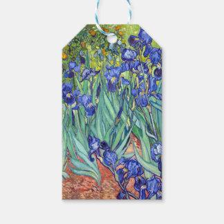 Vincent van Gogh 1889 iris Etiquetas Para Regalos