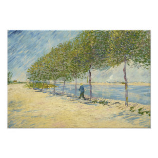 Vincent van Gogh - a lo largo del Sena Foto