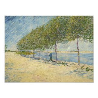 Vincent van Gogh - a lo largo del Sena Fotos