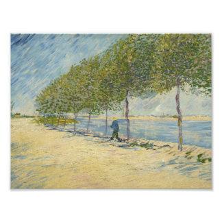 Vincent van Gogh - a lo largo del Sena Impresiones Fotográficas