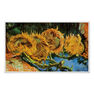 Vincent van Gogh - bella arte cortada de cuatro