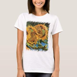Vincent van Gogh - bella arte cortada de cuatro Camiseta
