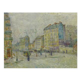 Vincent van Gogh - Boulevard de Clichy Postal