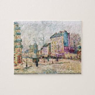 Vincent van Gogh - Boulevard de Clichy Puzzle