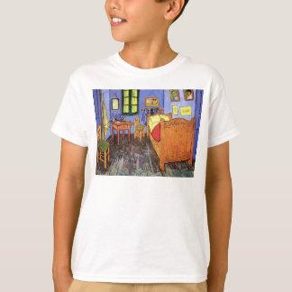 Vincent van Gogh - dormitorio en bella arte de Camiseta