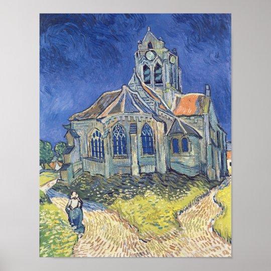 Vincent van Gogh el | la iglesia en el Póster