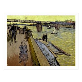 Vincent van Gogh el | Le Pont de Trinquetaille Postal