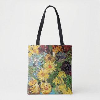 Vincent van Gogh - florero con las margaritas y Bolsa De Tela