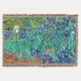 VINCENT VAN GOGH - iris 1889 Manta