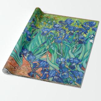 VINCENT VAN GOGH - iris 1889 Papel De Regalo