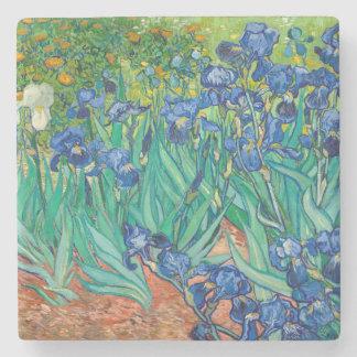 VINCENT VAN GOGH - iris 1889 Posavasos De Piedra