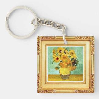 Vincent van Gogh - llavero de los girasoles