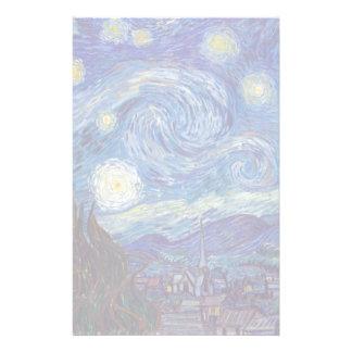 VINCENT VAN GOGH - noche estrellada 1889 Papelería