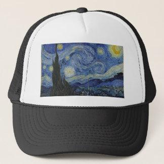 Vincent van Gogh - noche estrellada. Pintura del Gorra De Camionero