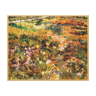 Vincent van Gogh - prado en la bella arte del