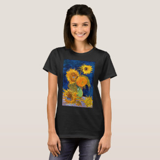 Vincent van Gogh - seis camisetas de los girasoles
