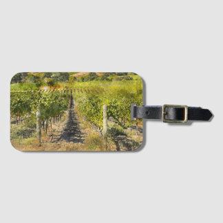 Viñedo del vino de California Etiqueta Para Maletas